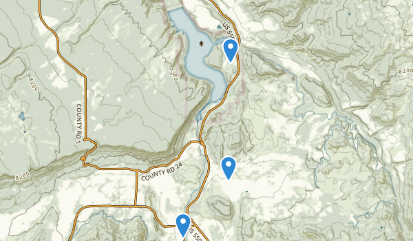 Ridgway State Park Map