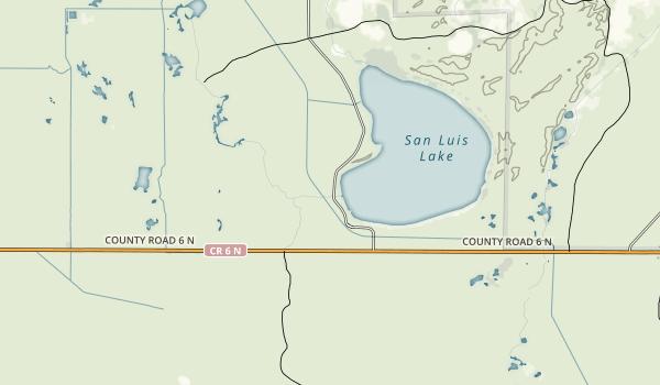 San Luis State Park Map