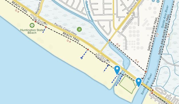 Huntington State Beach Map