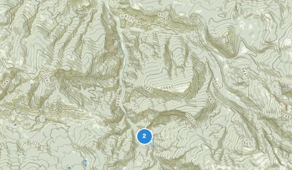 Sylvan Lake State Park Map