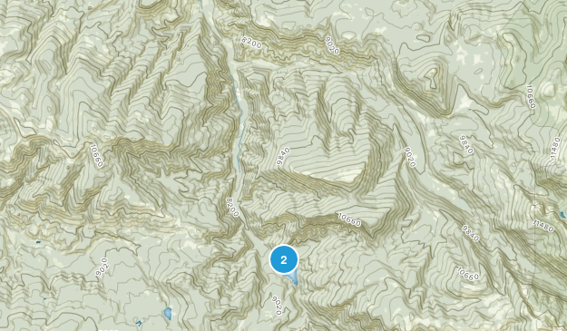 Parque Estatal de Sylvan Lake Map