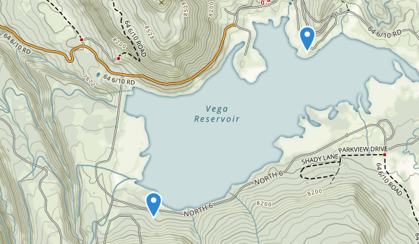 Vega State Park Map