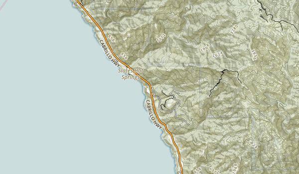 John Little State Natural Reserve Map