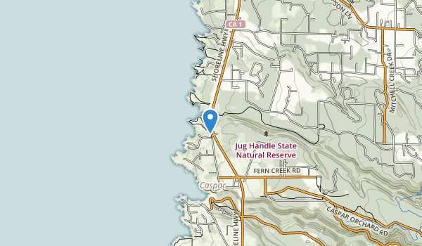 Jug Handle State Natural Reserve Map