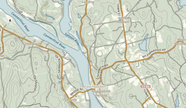 Brainard Homestead State Park Map