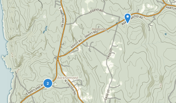 Enders State Forest Map
