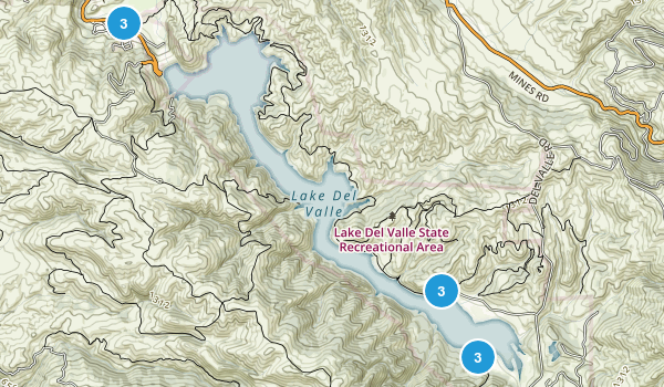 Lake Del Valle State Recreation Area Map