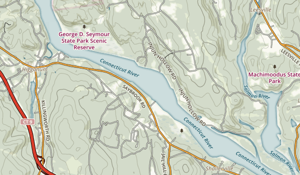 Haddam Island Map