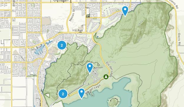 Lake Perris State Recreation Area Map