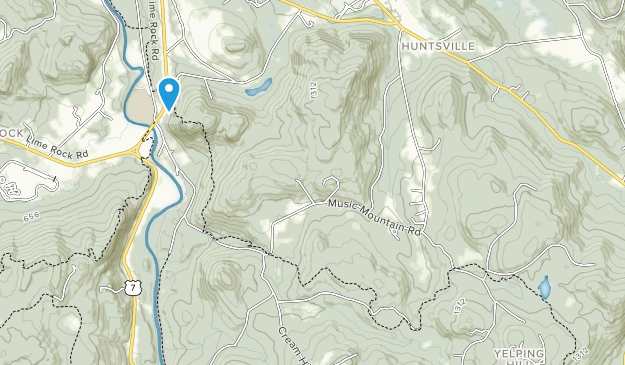 Housatonic State Forest Map