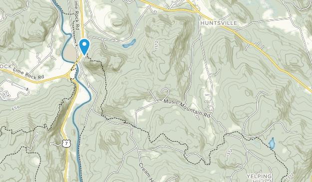 Bosque Estatal de Housatonic Map