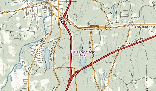Killingly Pond State Park Map