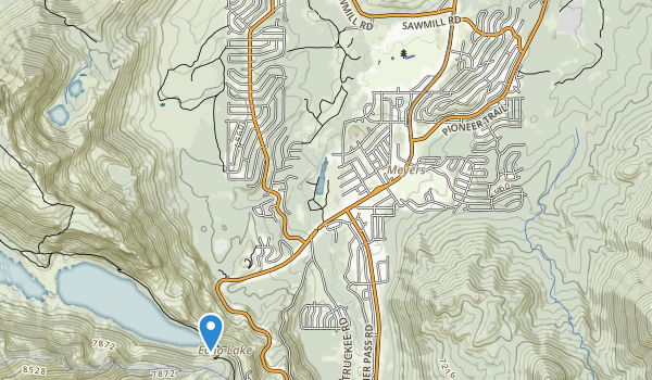 Lake Valley State Recreation Area Map
