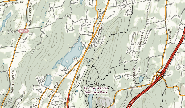 Lamentation Mountain State Park Map