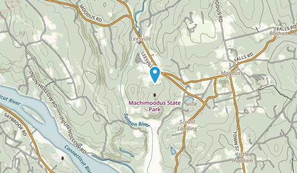 Machimoodus State Park Map