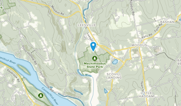 Machimoodus State Park Map
