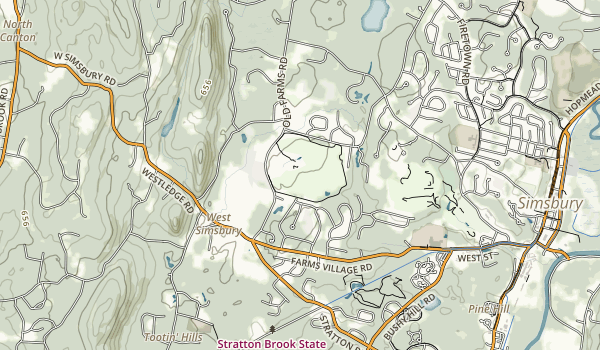 Massacoe State Forest Map