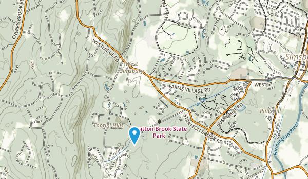 Massacoe State Forest Map