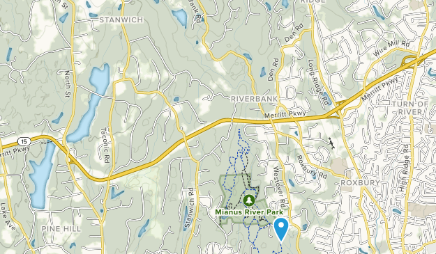 Mianus River State Park Map