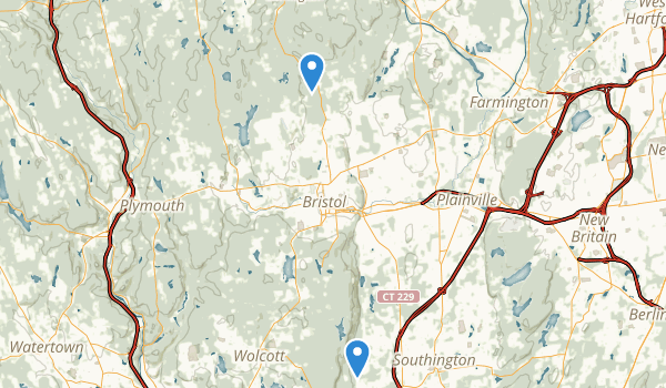 trail locations for Nassahegon State Forest