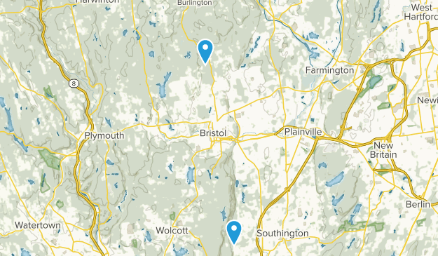 Nassahegon State Forest Map