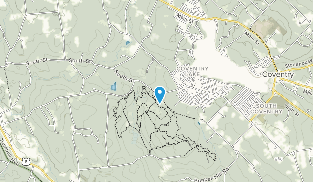 Nathan Hale State Forest Map