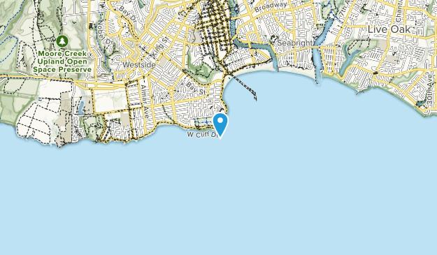 Lighthouse Field State Beach Map