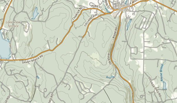 Nye-Holman State Forest Map