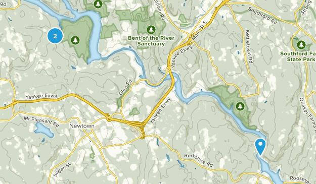 Bosque Estatal Paugussett Map