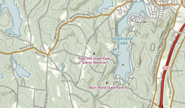 Platt Hill State Park Map