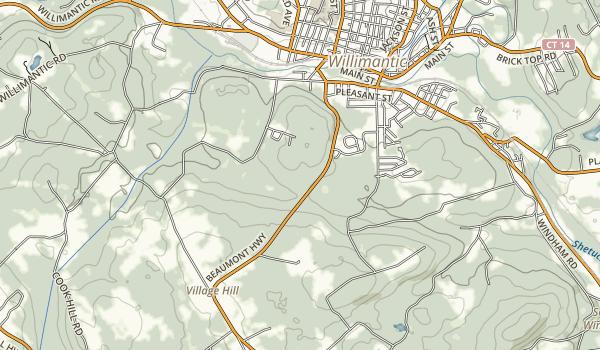 Pomeroy State Park Map
