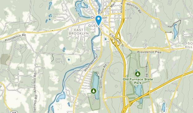 Quinebaug Lake State Park Map