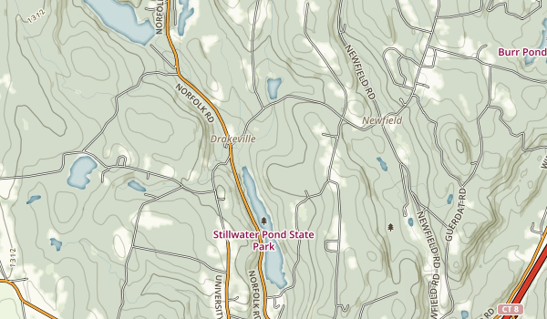 Stillwater Pond State Park Map