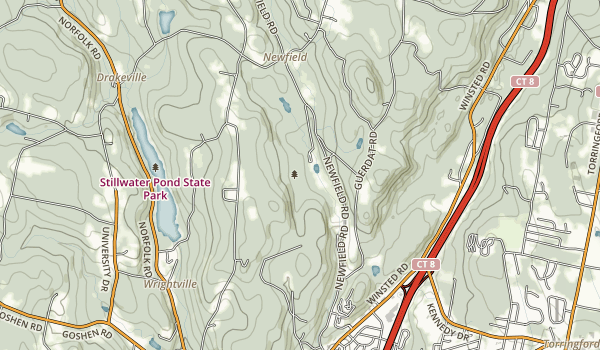 Sunnybrook State Park Map