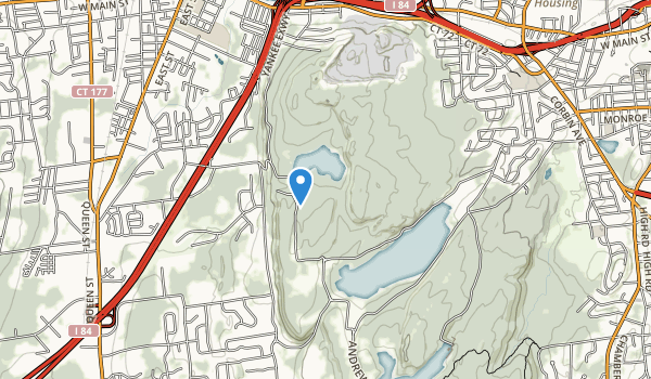 trail locations for Sunset Rock State Park