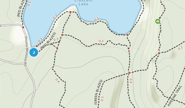 Parque Estatal Sunset Rock Map