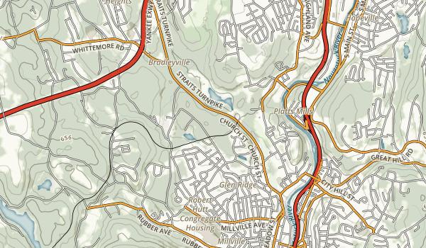 Whittemore Glen State Park Map