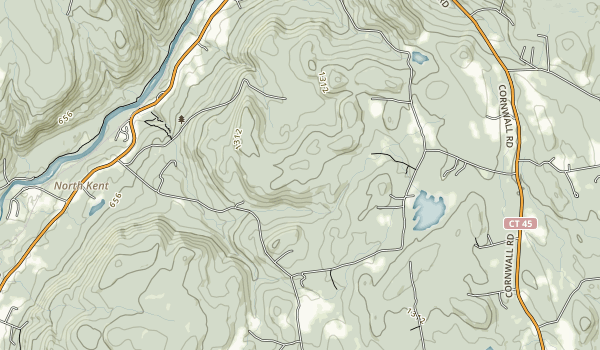 Wyantenock State Forest Map