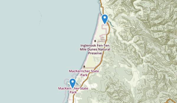 MacKerricher State Park Map