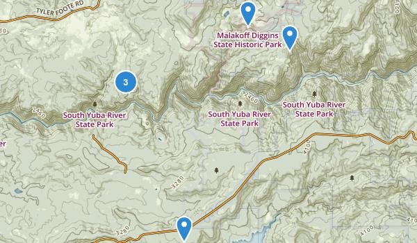 Malakoff Diggins State Historic Park Map