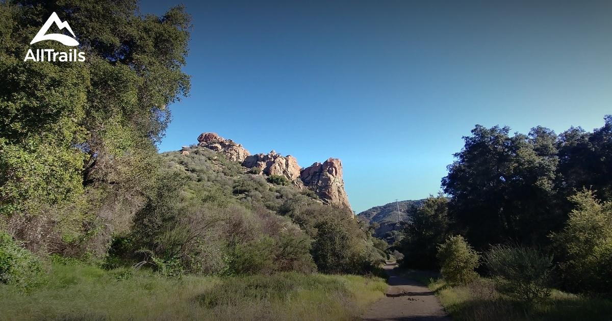 Malibu Creek State Park Hiking Dogs