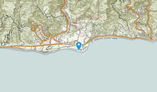 Malibu Lagoon State Beach Map