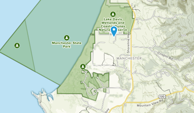 Manchester State Park Map
