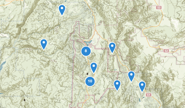 trail locations for Cuyamaca Rancho State Park