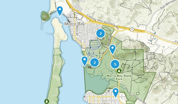 Parque Estatal Morro Bay Map