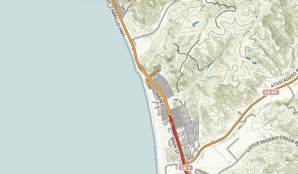 Morro Strand State Beach Map