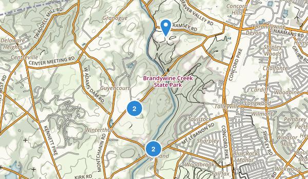 Brandywine Creek State Park Map