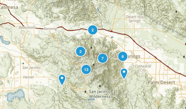 Mount San Jacinto State Park Map