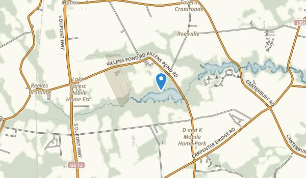 Killens Pond State Park Map
