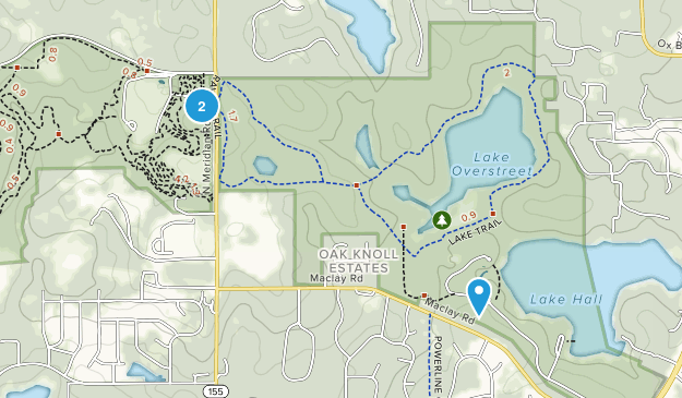 Alfred B. Maclay Gardens State Park Map